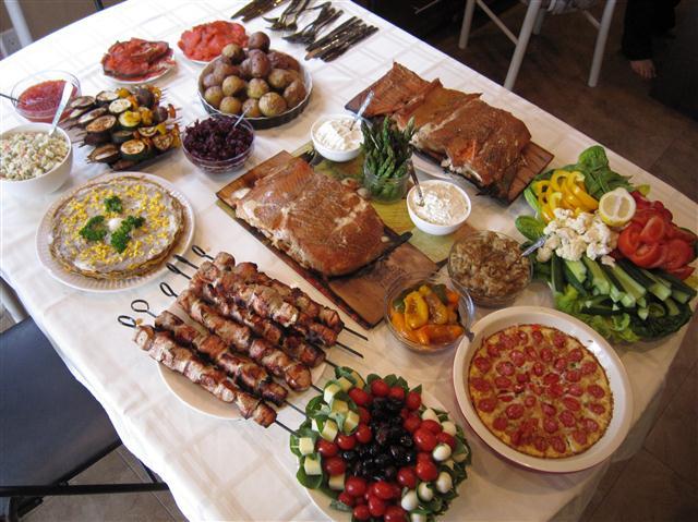 อาหารเย็นช้า! Ukrainian-Easter-Dinner-Paska-24