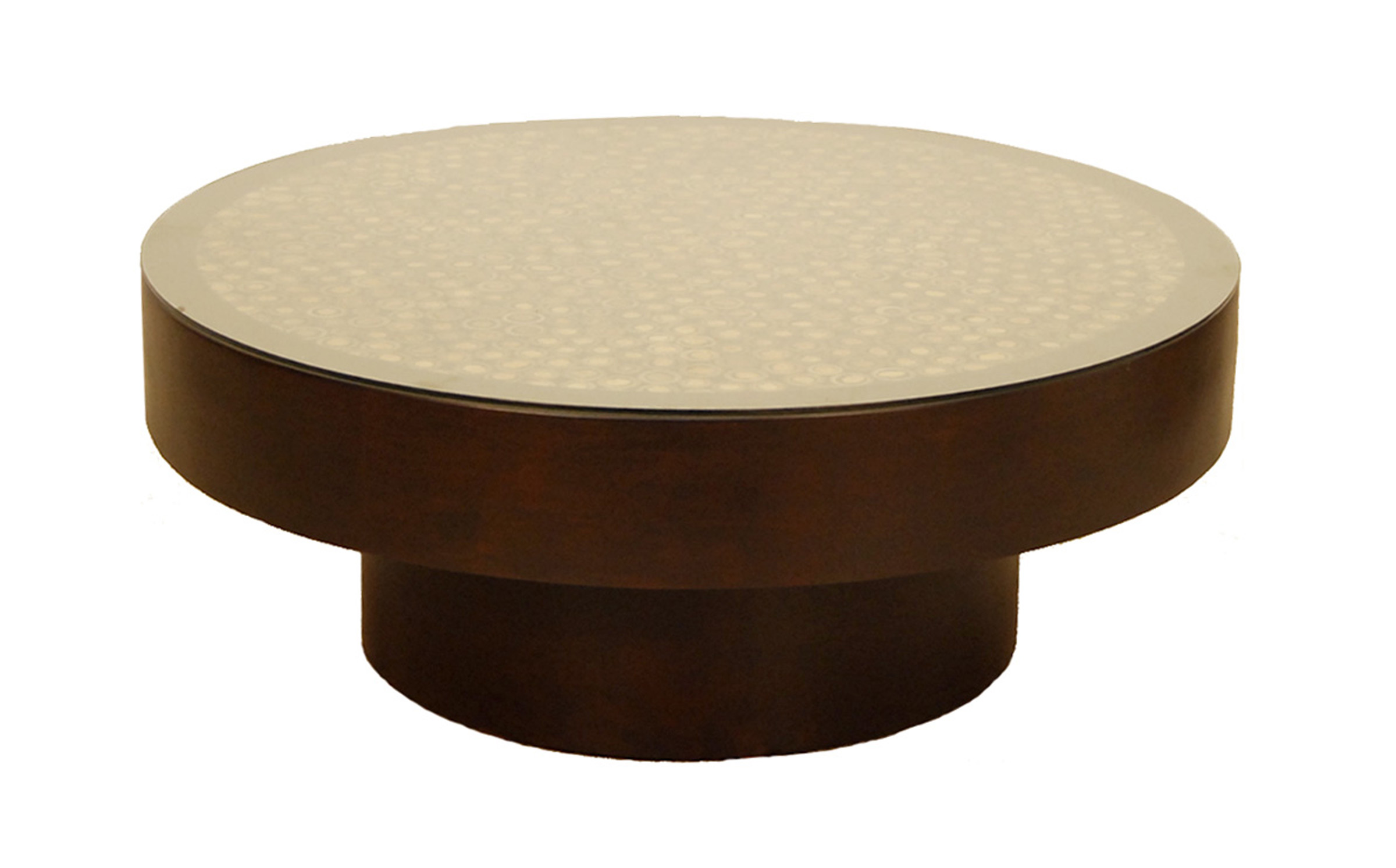 [help] pietement pour table basse ronde FB-5730-1-WOOD-CCUT-BAMBOO-WITH-SUNFLOWER-TOP-COFFEE-TBL