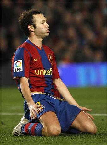 Lojtaret e Barcelones 304niesta-Barcelona
