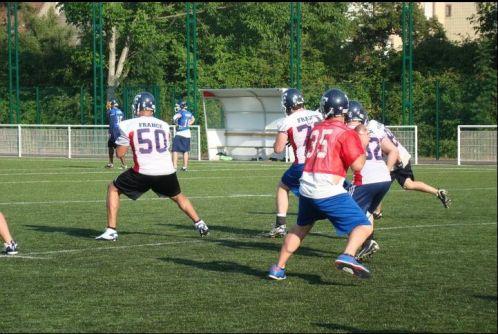 Football américain (NFL) La-france-s-entraine
