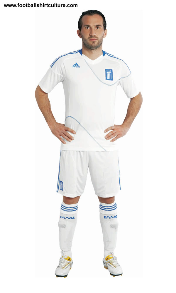 Road To the World Cup 2010 in South African Greece-10-12-adidas-home-kit