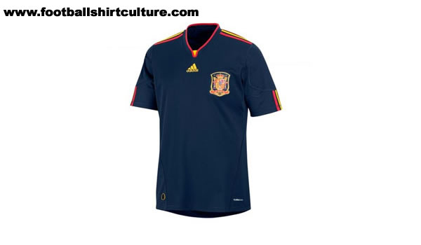 Road To the World Cup 2010 in South African Spain-world-cup-2010-away-shirt-leaked