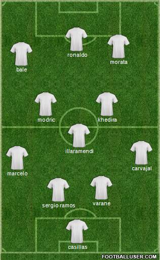 UCL |Real Madrid - Copenhagen | 2 Oct 841726_Champions_League_Team