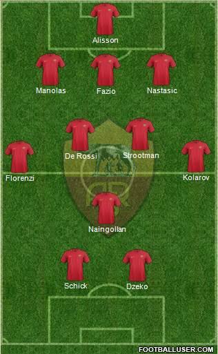 Quelle serait votre équipe pour la saison 2020 / 2021 ?  - Page 4 1682185_AS_Roma