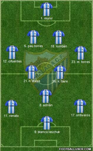 [J37] Cádiz C.F. - Málaga C.F. - Lunes 06/05/2019 21:00 h. #CádizMálaga 1751006_Malaga_CF_SAD