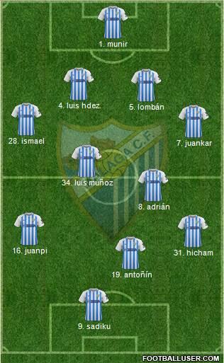 [J28] Cádiz C.F. - Málaga C.F. - Domingo 16/02/2020 16:00 h. #CádizMálaga 1798201_Malaga_CF_SAD