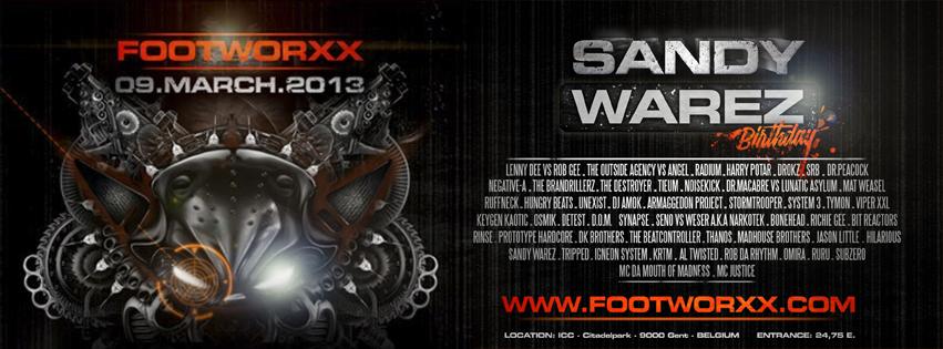 [FRENCHCORE] Sandy Warez - Set annonce de Sandy Warez bday 2013 - (07/02/2013) Footworxx09march2013banner