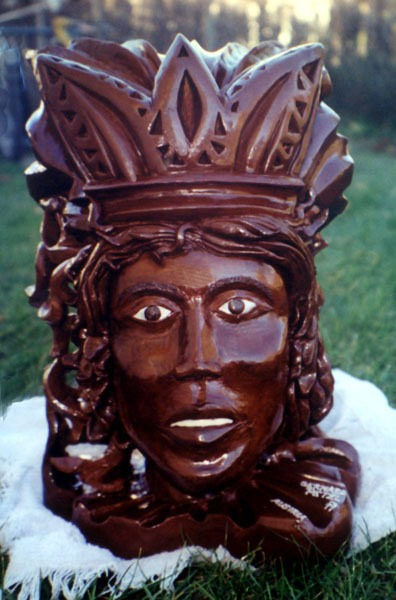 Chocolate Art 023-indian_woman-indianerfrau