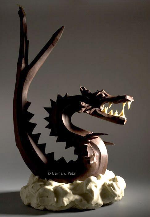 Chocolate Art Chocolate_sculptures-dragon-drache-2