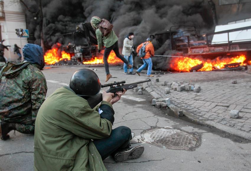armes vues en ukraine  Pellet-rifle
