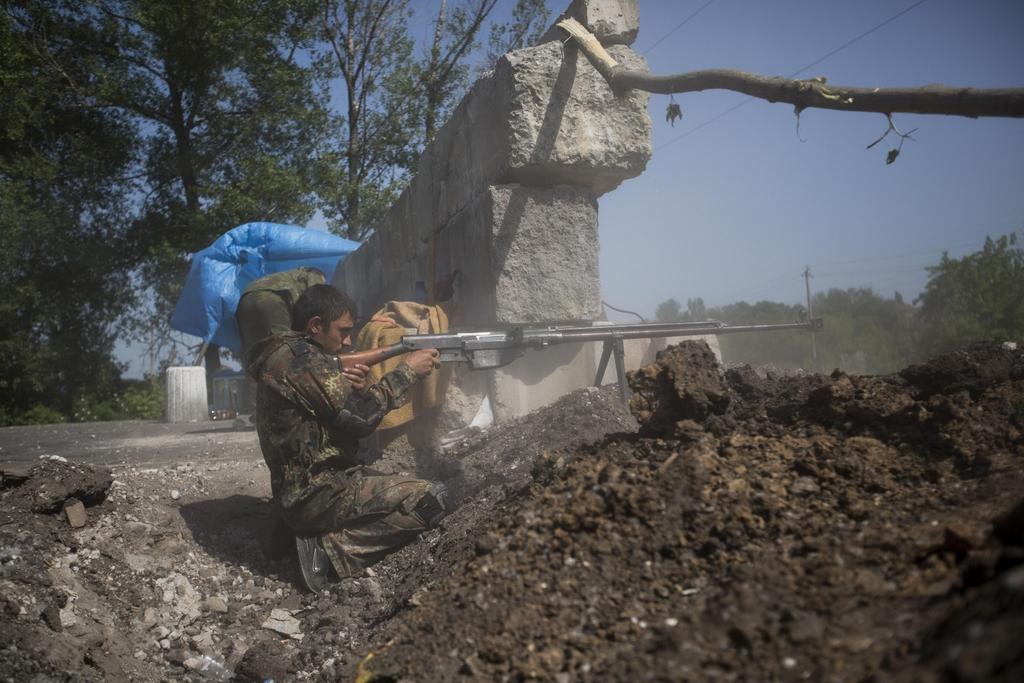 armes vues en ukraine  Ptr41-in-action