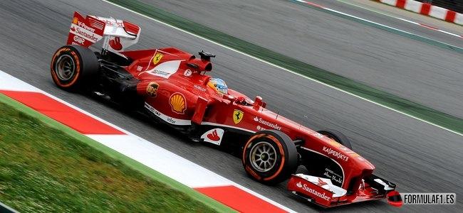 Gran Premio de España Alonso-FP2-montmelo