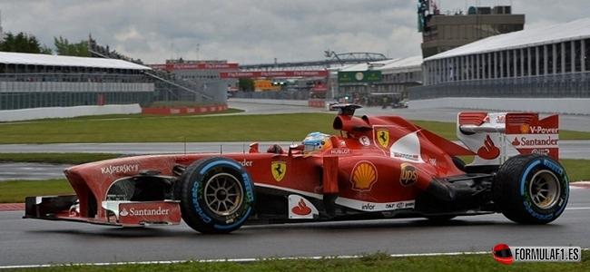 Gran Premio de Canadá Alonso-wets-canada