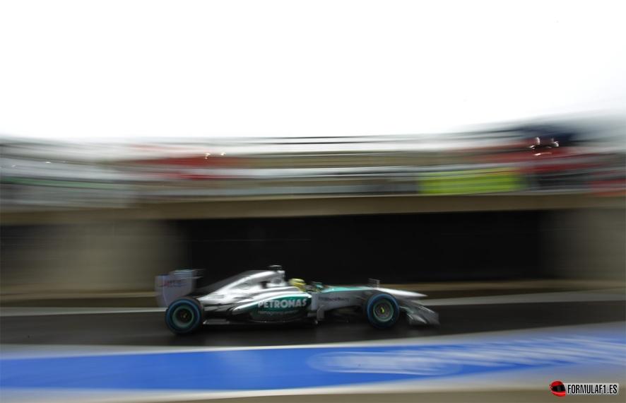 Gran Premio de Inglaterra Rosberg-silverstone