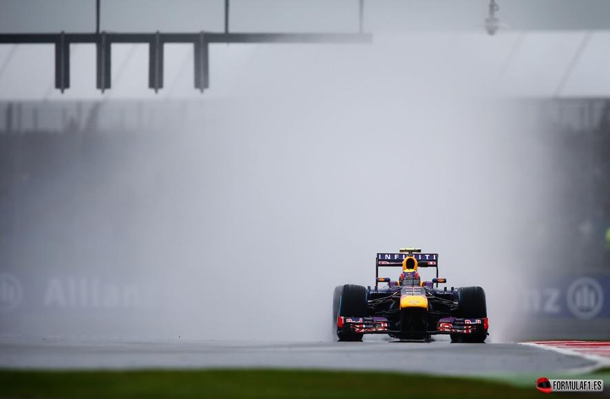 Gran Premio de Inglaterra Webber-Silverstone