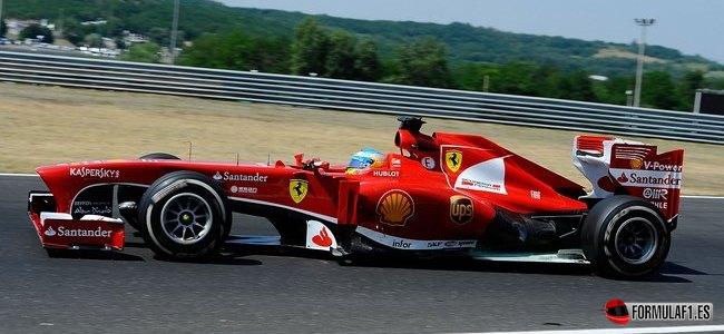 Gran Premio de Hungría Alonso-hungaroring-fp2