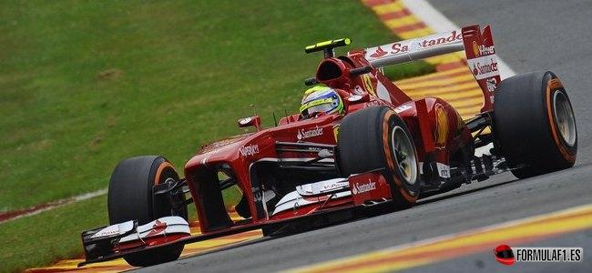 Gran Premio de Bélgica Massa-fp2-spa