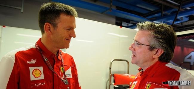 Gran Premio de Singapur Allison-Pat-Fry-Ferrari
