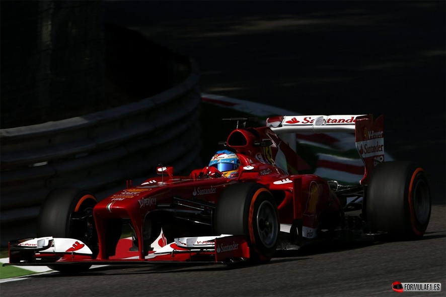 Gran Premio de Italia Alonso-libres-Monza