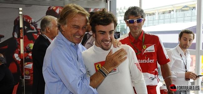Gran Premio de Singapur Montezemolo-Fernando-Alonso-Ferrari