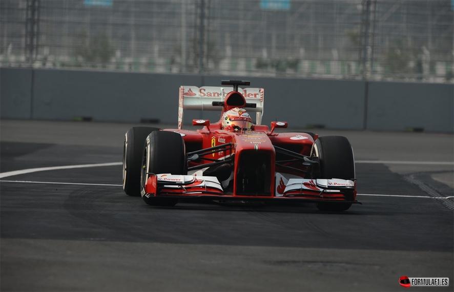Gran Premio de India Alonso-FP3