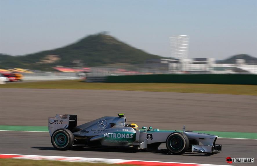 Gran Premio de Corea del Sur Hamilton-Corea
