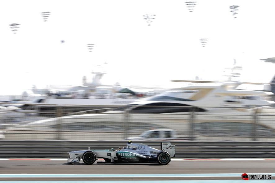Gran Premio de Abu Dhabi Hamilton-Abu