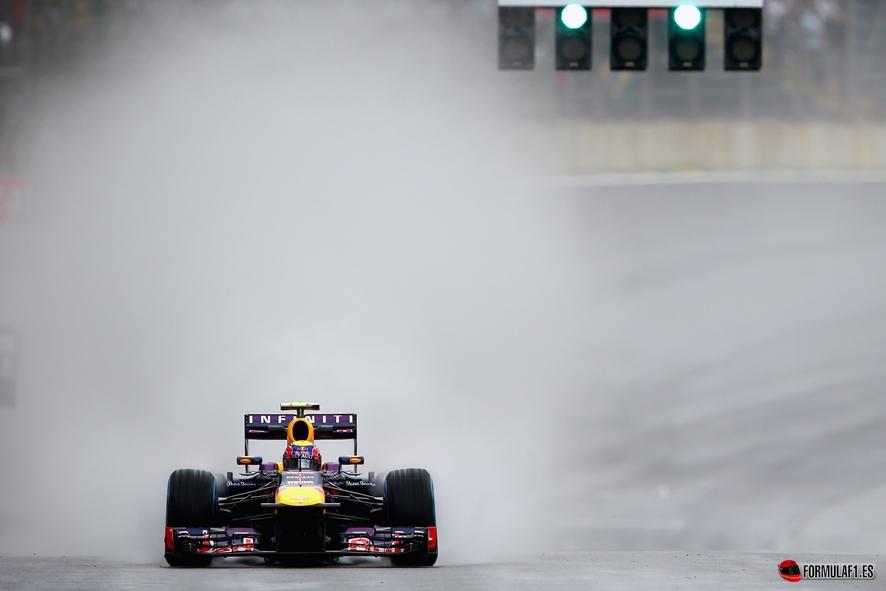 Gran Premio de Brasil Webber-Interlagos