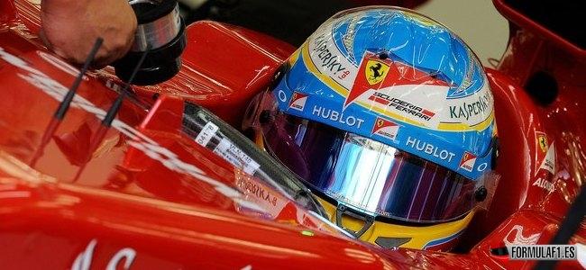 Gran Premio de China 2014 Alonso-box-China
