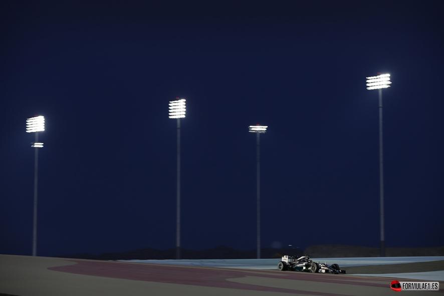 Gran Premio de Baréin 2014 Hamilton-Barein