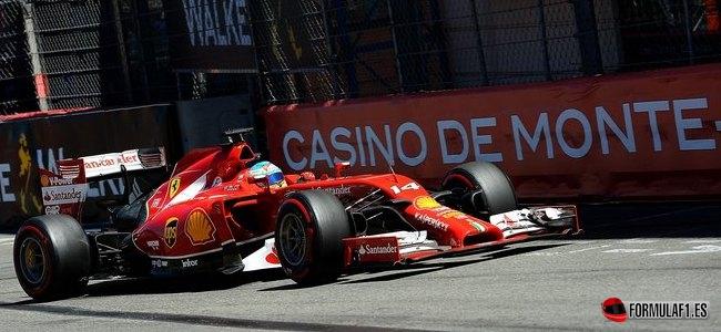 Gran Premio de Mónaco 2014 Alonso-Monaco