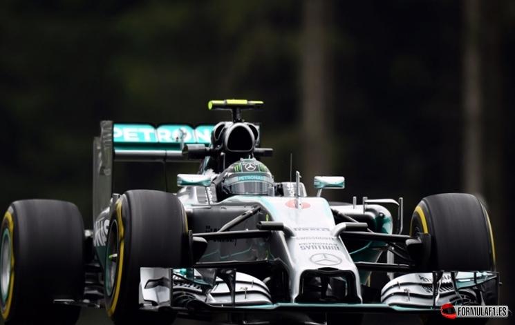 Gran Premio de Austria 2014 Rosberg-aut