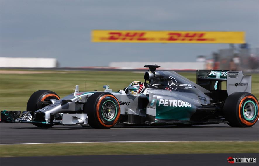 Gran Premio de Gran Bretaña 2014 Ham-fp2