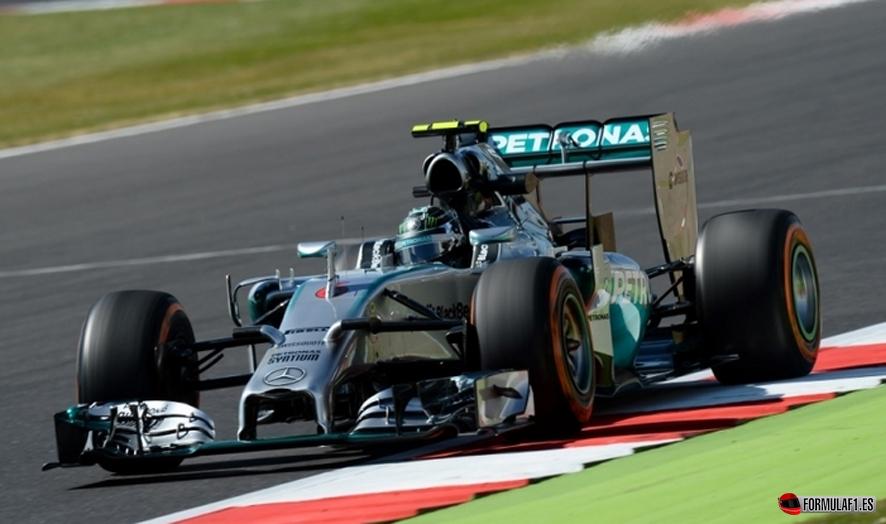 Gran Premio de Gran Bretaña 2014 Rosberg-gb1