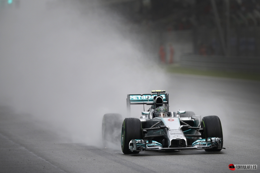 Gran Premio de Gran Bretaña 2014 Rosberg-quali