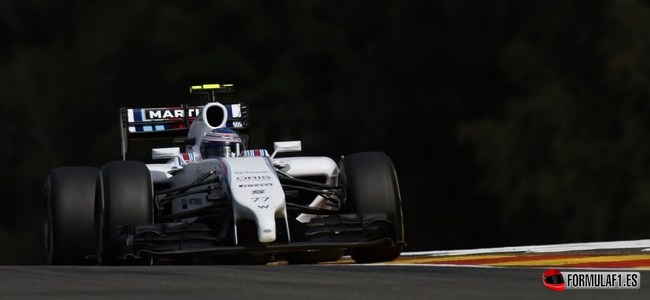 Gran Premio de Bélgica 2014 Bottas-fp3-Spa