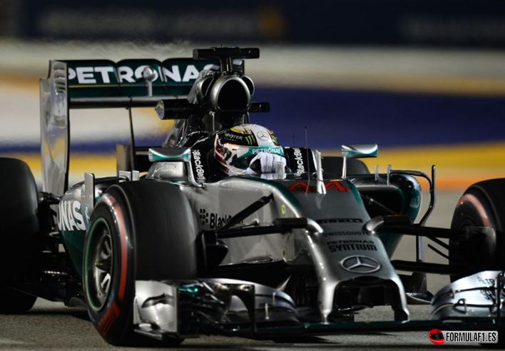 Gran Premio de Singapur 2014 Hamilton-logra-la-Pole.-GP-Singapur-2014