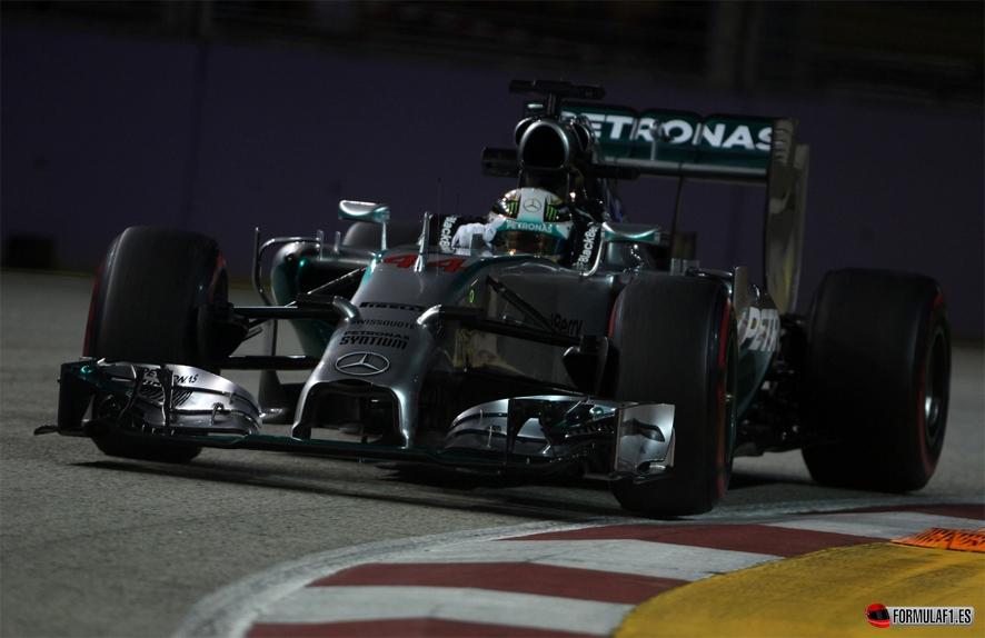 Gran Premio de Singapur 2014 Singapur-Hamilton