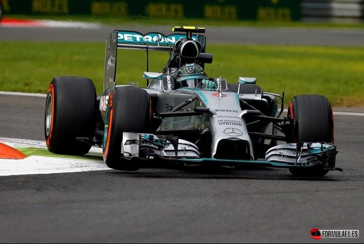 Gran Premio de Italia 2014 Rosberg-fp2