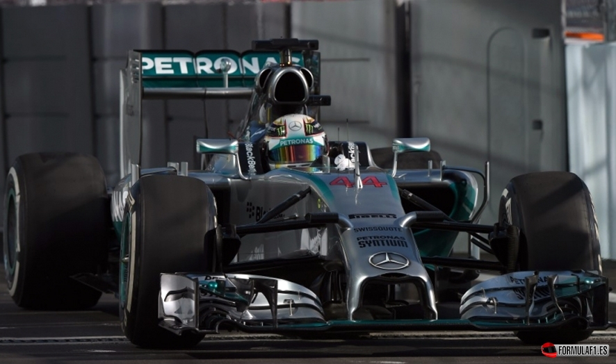 Gran Premio de Rusia 2014 Hamilton-FP2