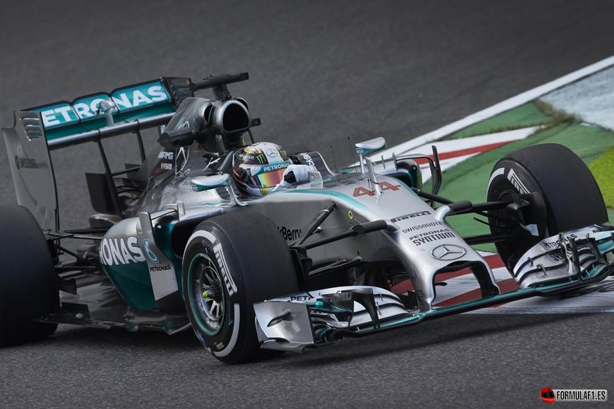 Gran Premio de Rusia 2014 Lewis-FP3