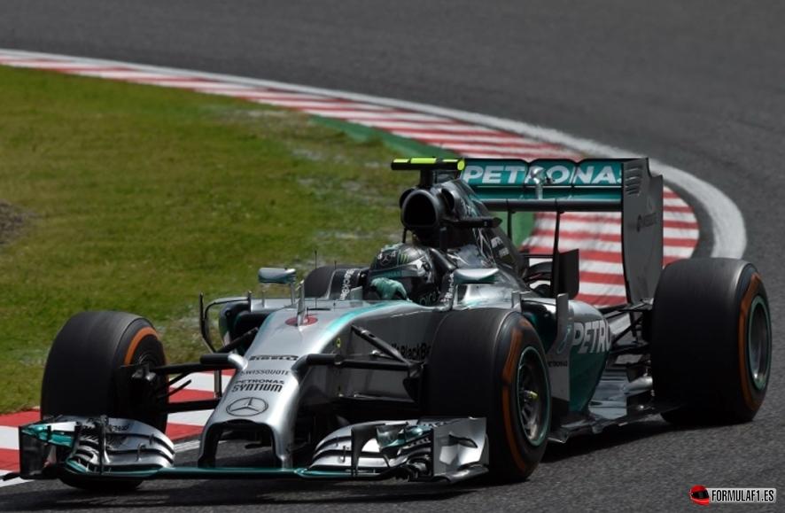 Gran Premio de Japón 2014 Rosberg-fp1-suzuka