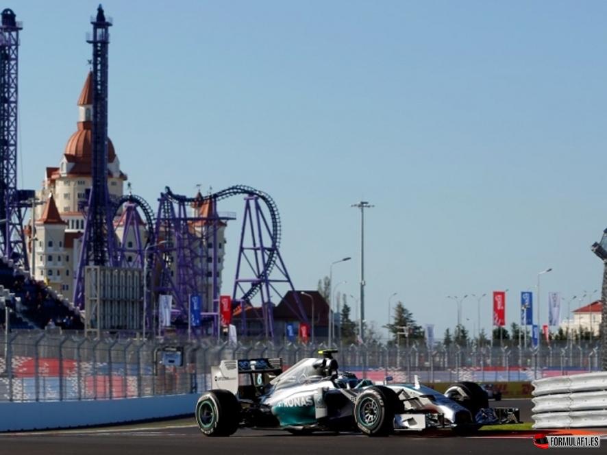 Gran Premio de Rusia 2014 Rosberg-sochi-fp1