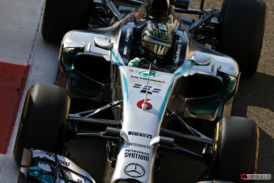 Gran Premio de Abu Dhabi 2014 Rosberg-AUH-FP3
