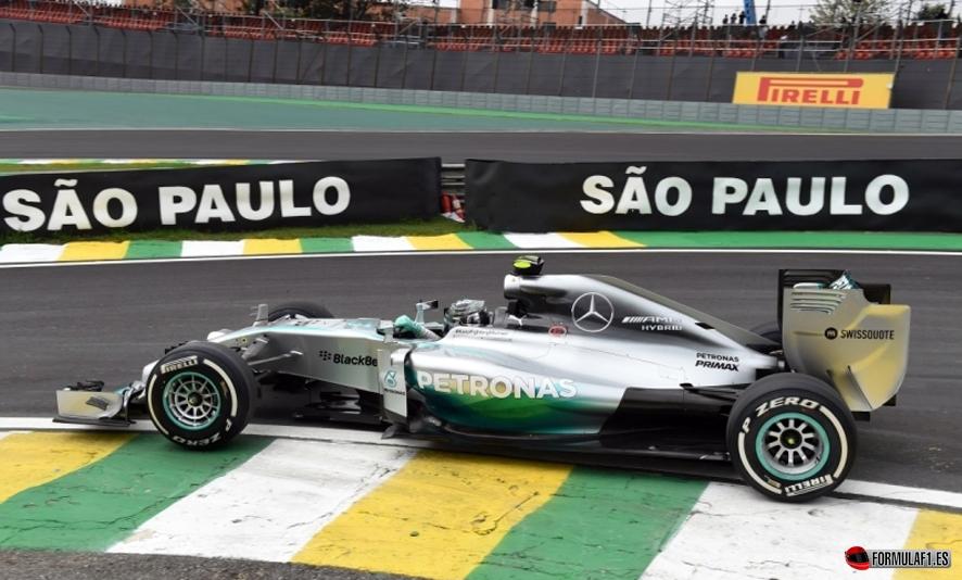 Gran Premio de Brasil 2014 Rosberg-FP11