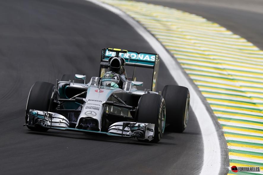 Gran Premio de Brasil 2014 Rosberg-FP3