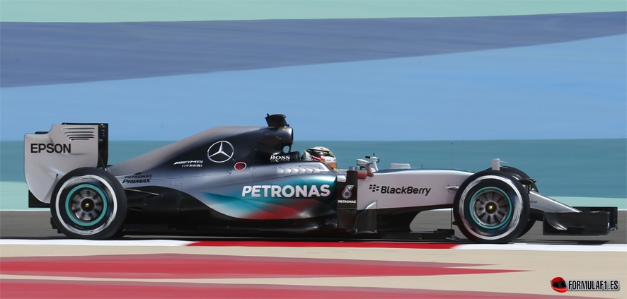 Gran Premio de Barein 2015 HAM-FP31