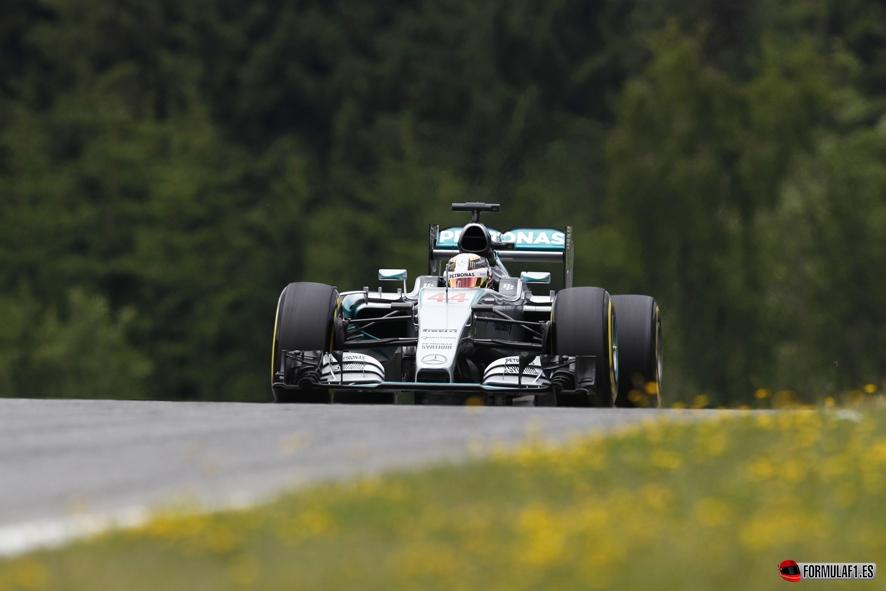 Gran Premio de Austria 2015 Hamilton-Q3