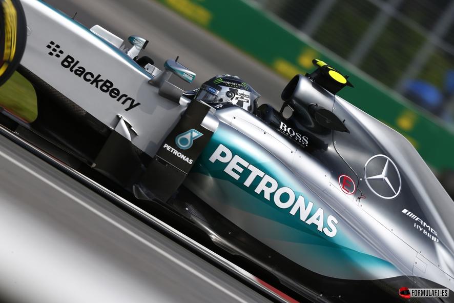 Gran Premio de Austria 2015 Rosberg-Austria