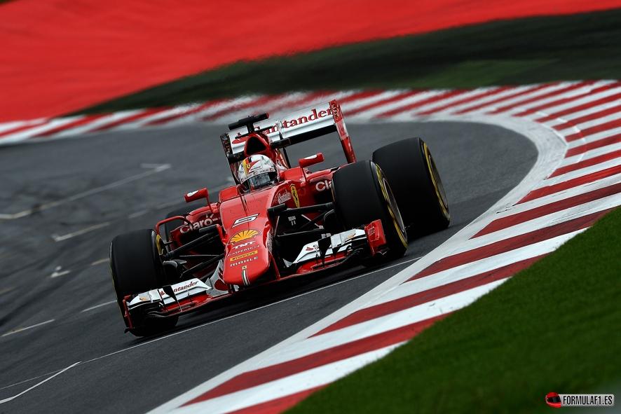 Gran Premio de Austria 2015 Vettel-FP3